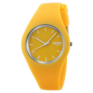Silicone Waterproof Sport Wristwatches