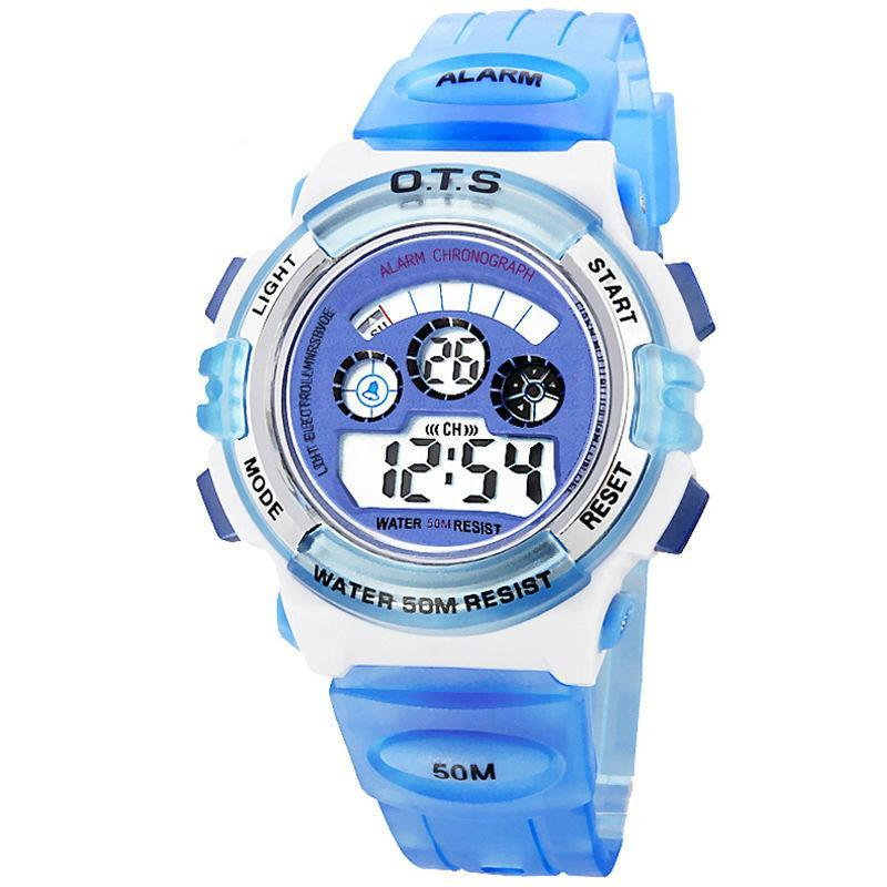LED Cartoon Daliry Life Watch for Children