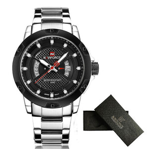Analog Waterproof Sports Military Watch