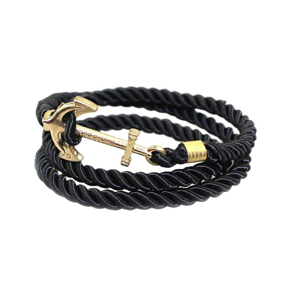 Vintage Woven Multi-layer Anchor Bracelets