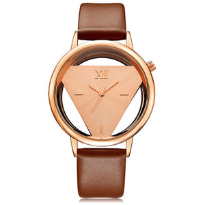 Leather Hollow Style Watch