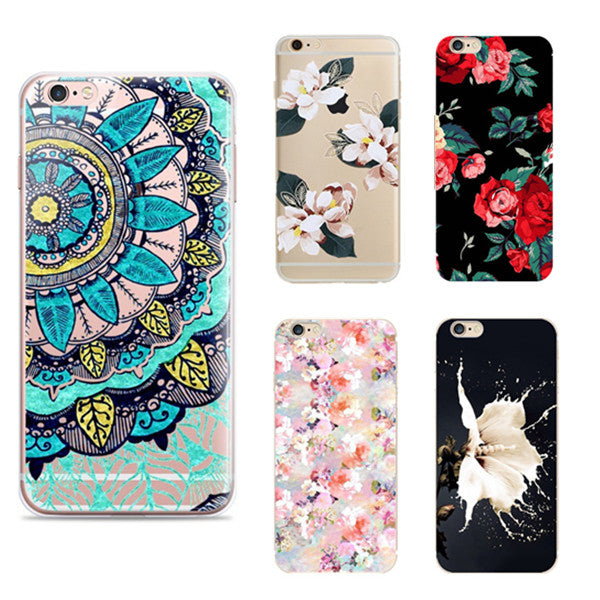 Flowers Coque Case for iPhone
