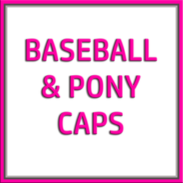 C.C Caps - Baseball & Pony Caps