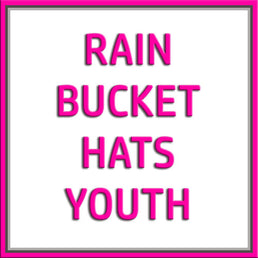 C.C Rain Bucket Hats-Youth