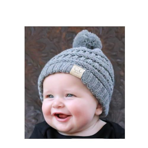 Baby-847 Beanie Light Melange