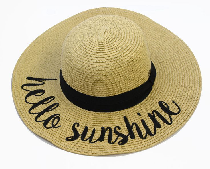 ST-2017 Hello Sunshine Beach Hats