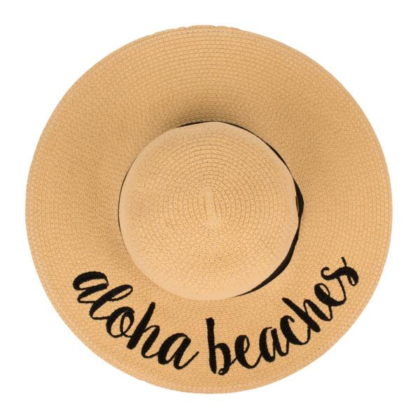 ST-2017 Aloha Beaches Beach Hat
