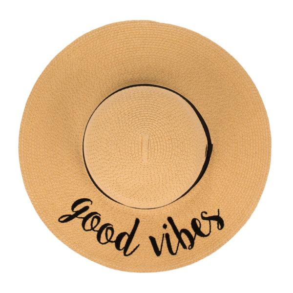 ST-2017 Good Vibes Beach Hat