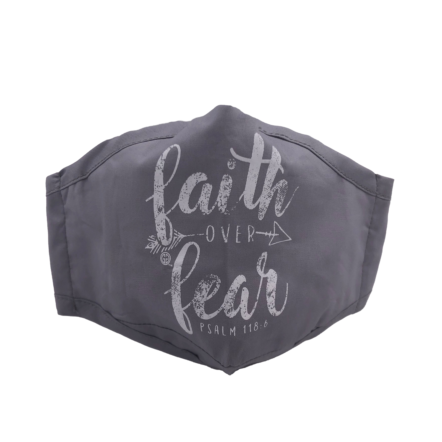 ADULT MASK FAITH OVER FEAR