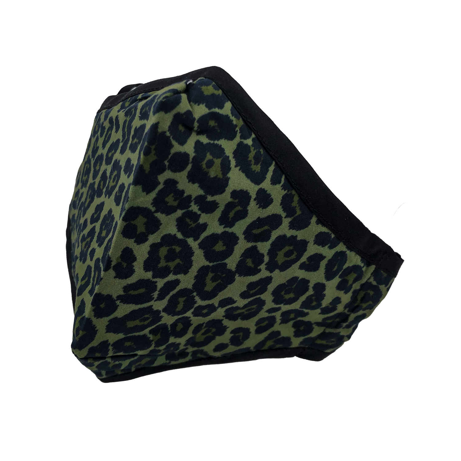ADULT MASK LEOPARD OLIVE