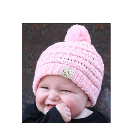 Baby-847 Beanie Pale Pink
