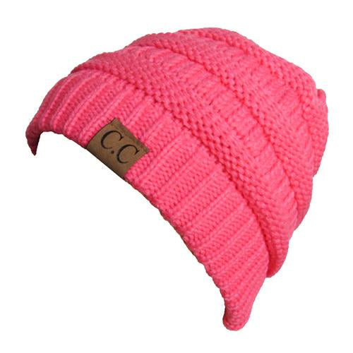 CC20A BEANIE NEW CANDY PINK