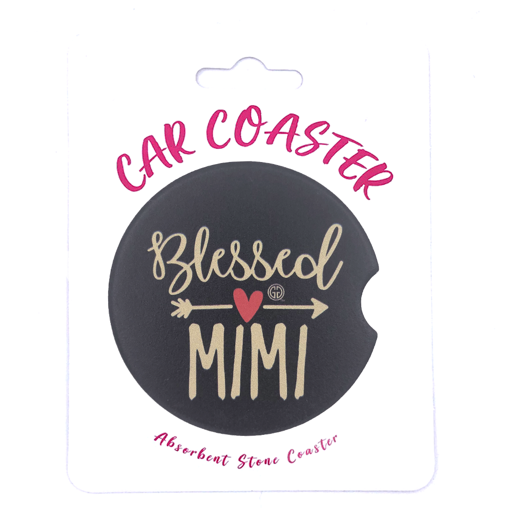 C4 - Car Coaster Blessed Mimi