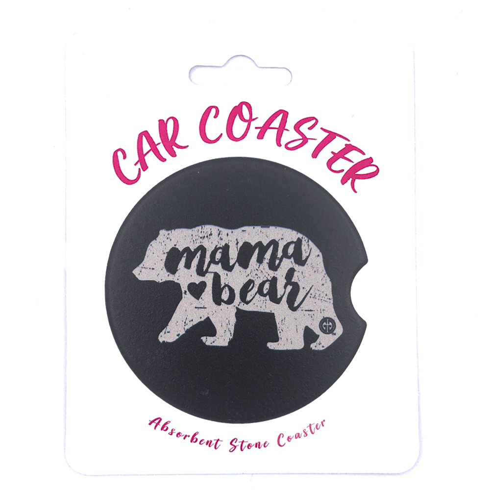 C8 - Car Coaster Mama Bear