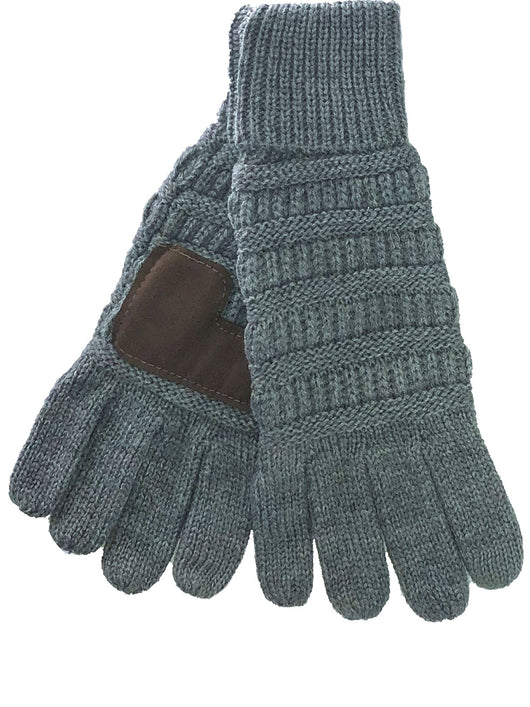 C.C G-20 Light Melange Grey Gloves