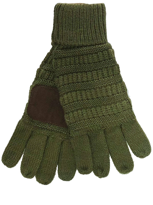 C.C GL-20 Olive Gloves