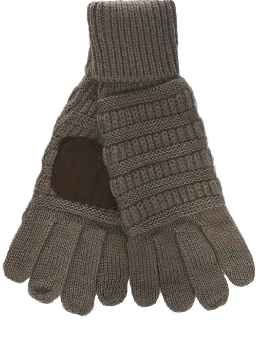 C.C G-20 Taupe Gloves