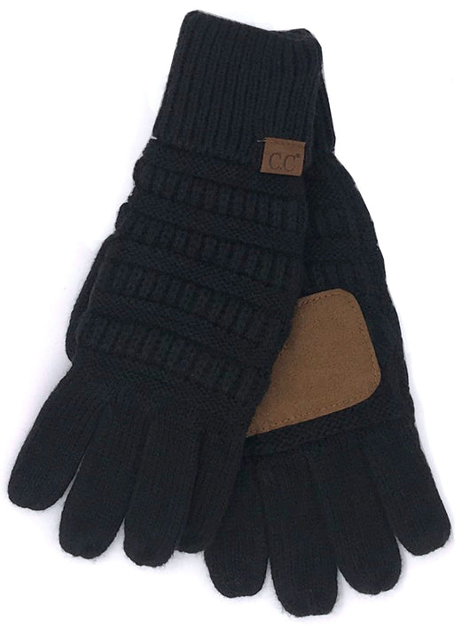C.C GL-20 Black Gloves
