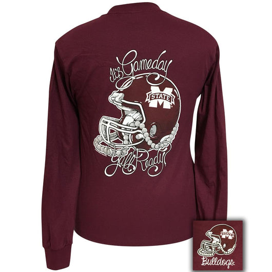 Back View of Mississippi State Gameday Shirt
