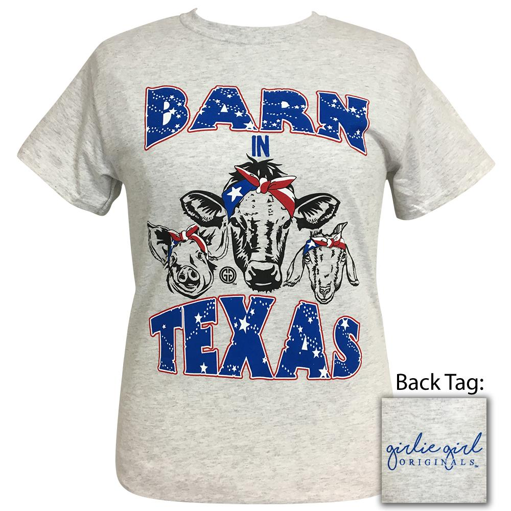 Barn Texas Ash Short Sleeve Tee