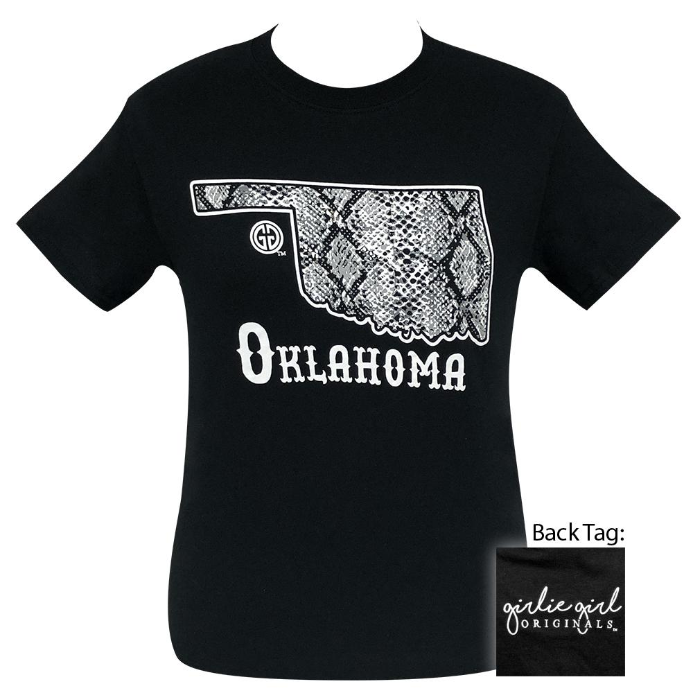 Snake Skin Oklahoma Black-2090 Short Sleeve