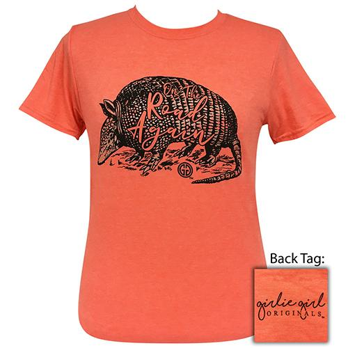 On The Road Again Heather Orange-2092 Short Sleeve