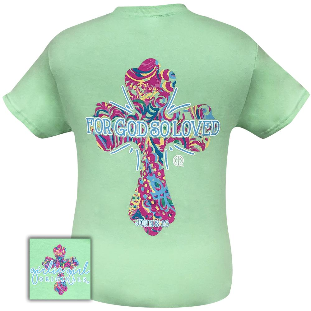 So Loved Cross Mint-2099 Short Sleeve
