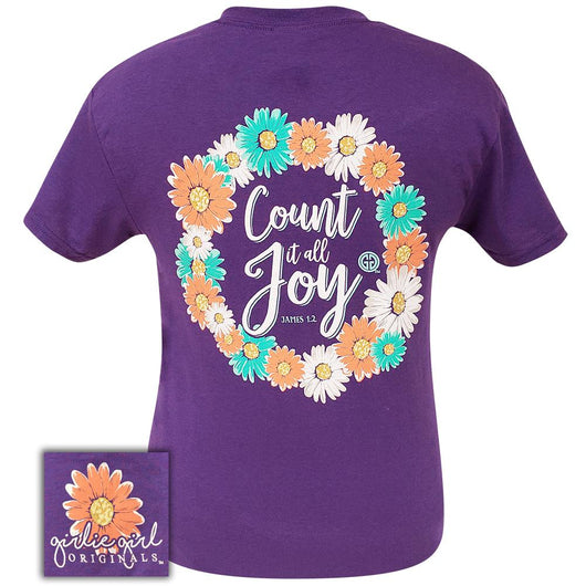 Count It All Joy Lilac-2100 Short Sleeve