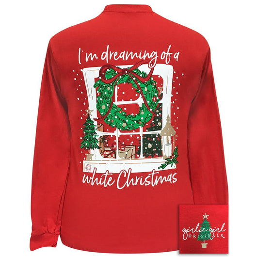 I'm Dreaming Red-2141 Long Sleeve