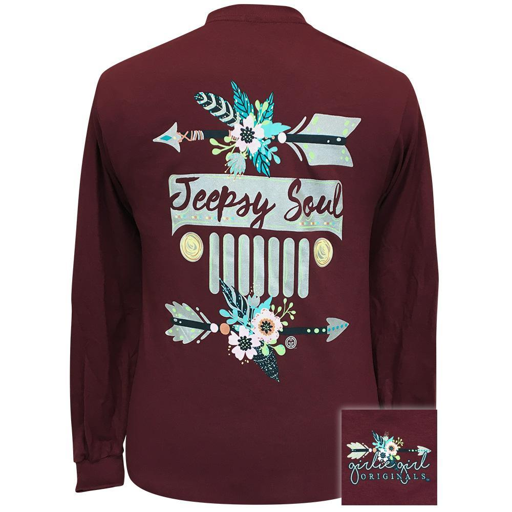 Jeepsy Soul2 2155 Maroon Long Sleeve
