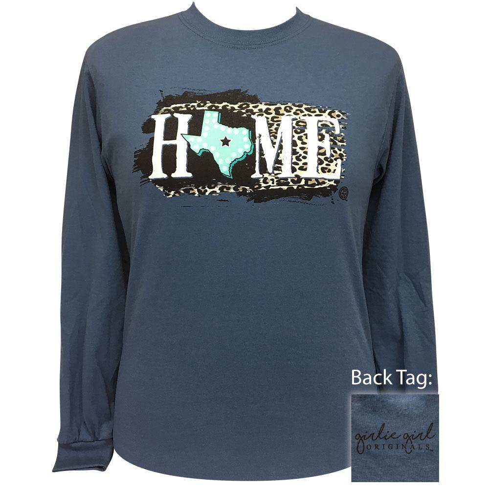 Texas Home Indigo Long Sleeve 2185