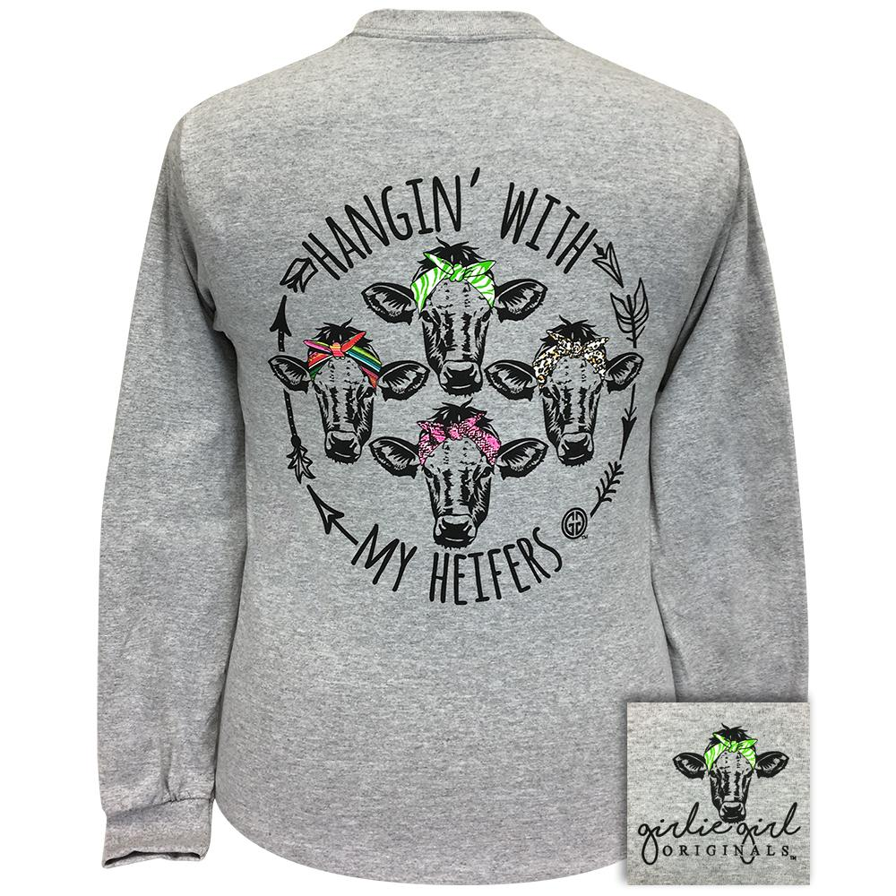 My Heifers 2 Sports Grey Long Sleeve