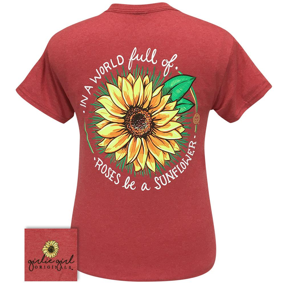 World Sunflower Heather Red SS-2271
