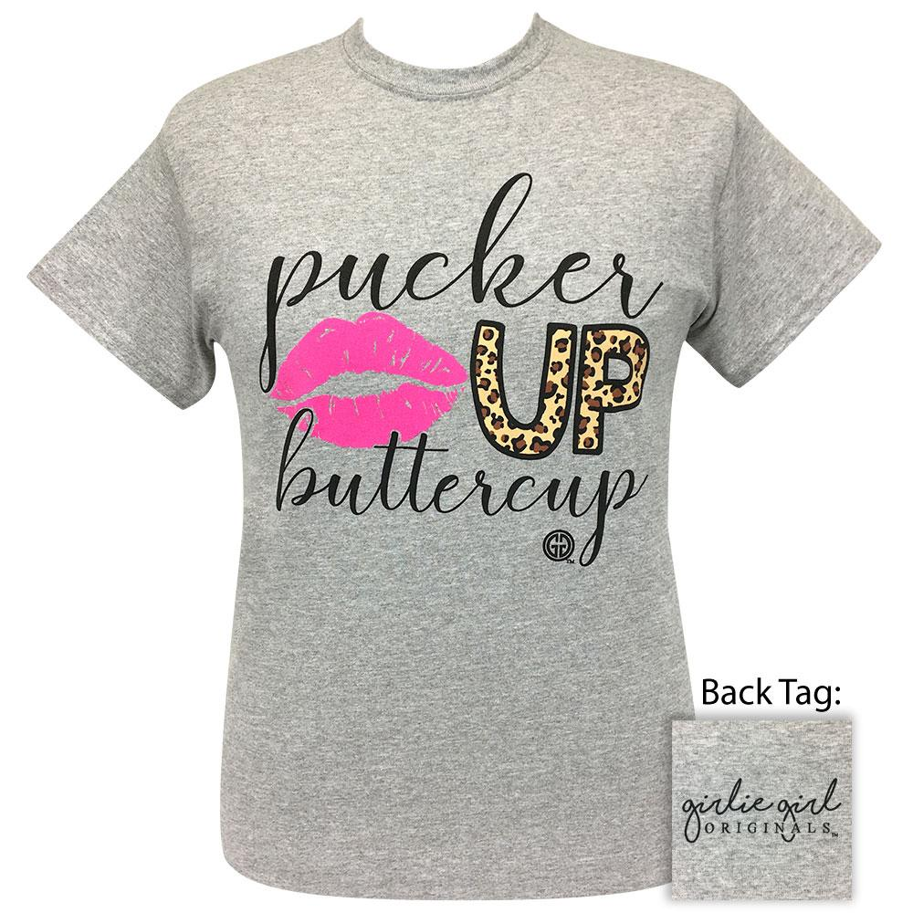 Pucker Up Sports Grey - 2272 Short Sleeve Tee