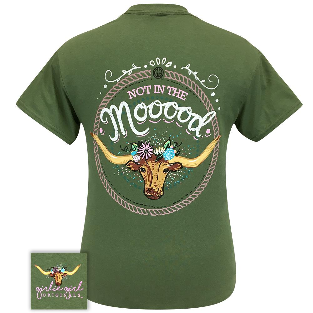 Mooood 2273 Military Green Short Sleeve Tee