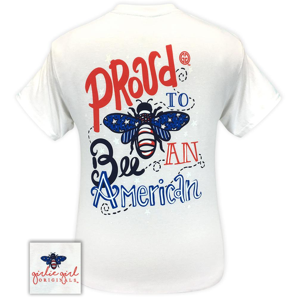 Proud to Bee White 2283 Short Sleeve