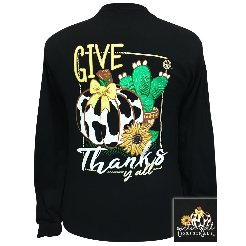 Give Thanks Y'all Black - LS-2313