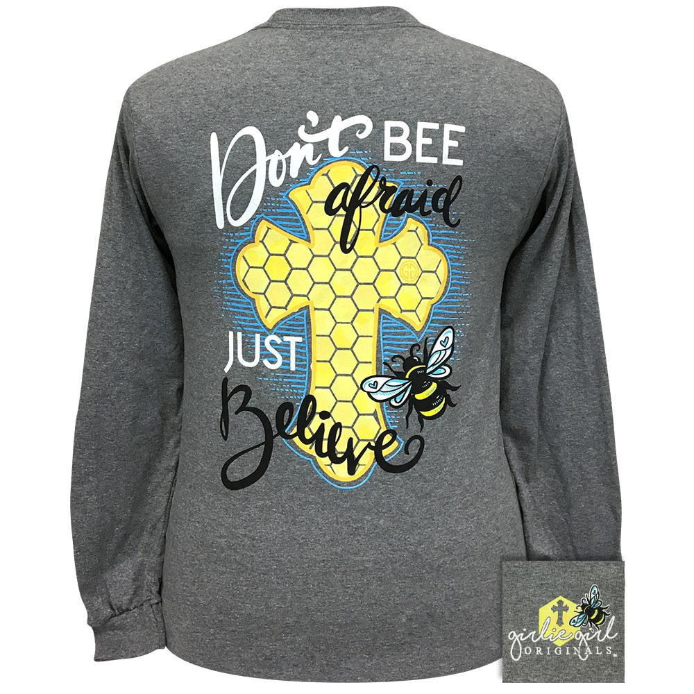 Just Believe Graphite Heather 2327 Long Sleeve