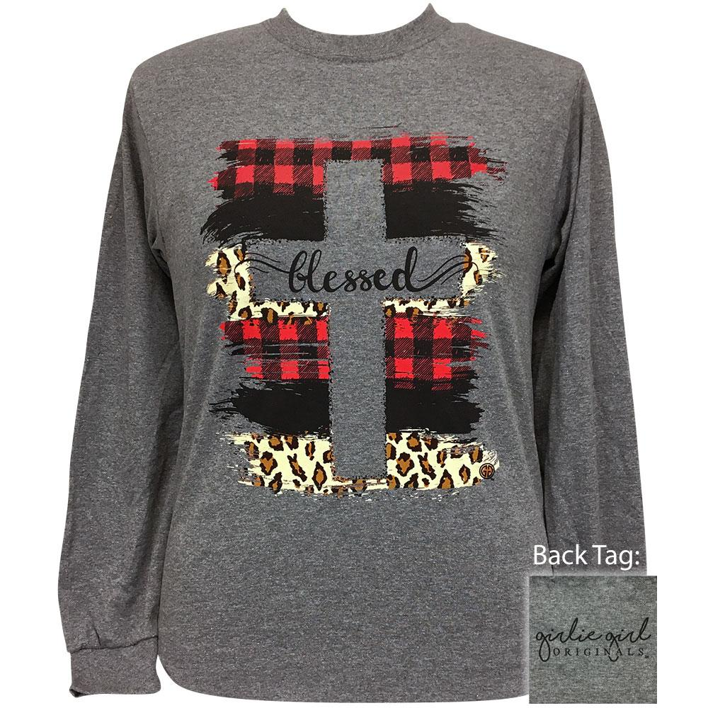 BLESSED PATTERNS GRAPHITE - 2336 Long Sleeve