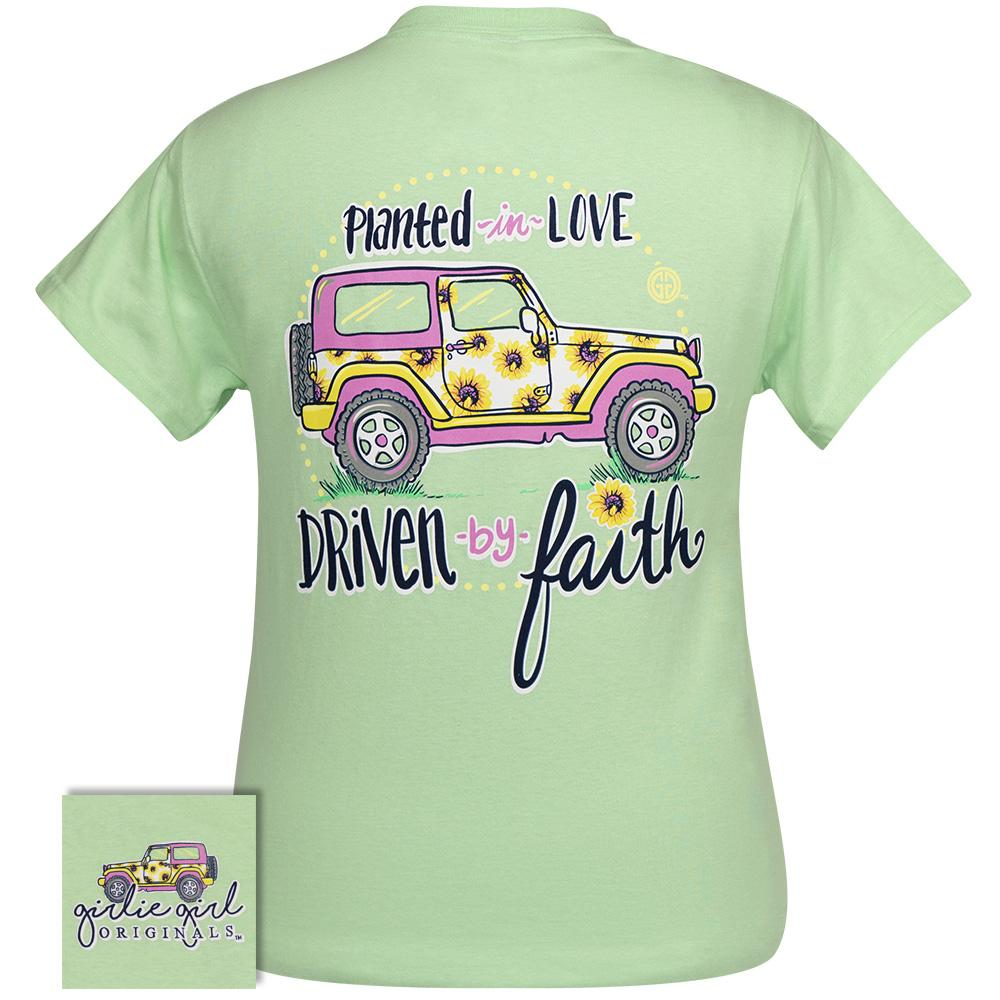 Driven by Faith Mint Green SS-2356