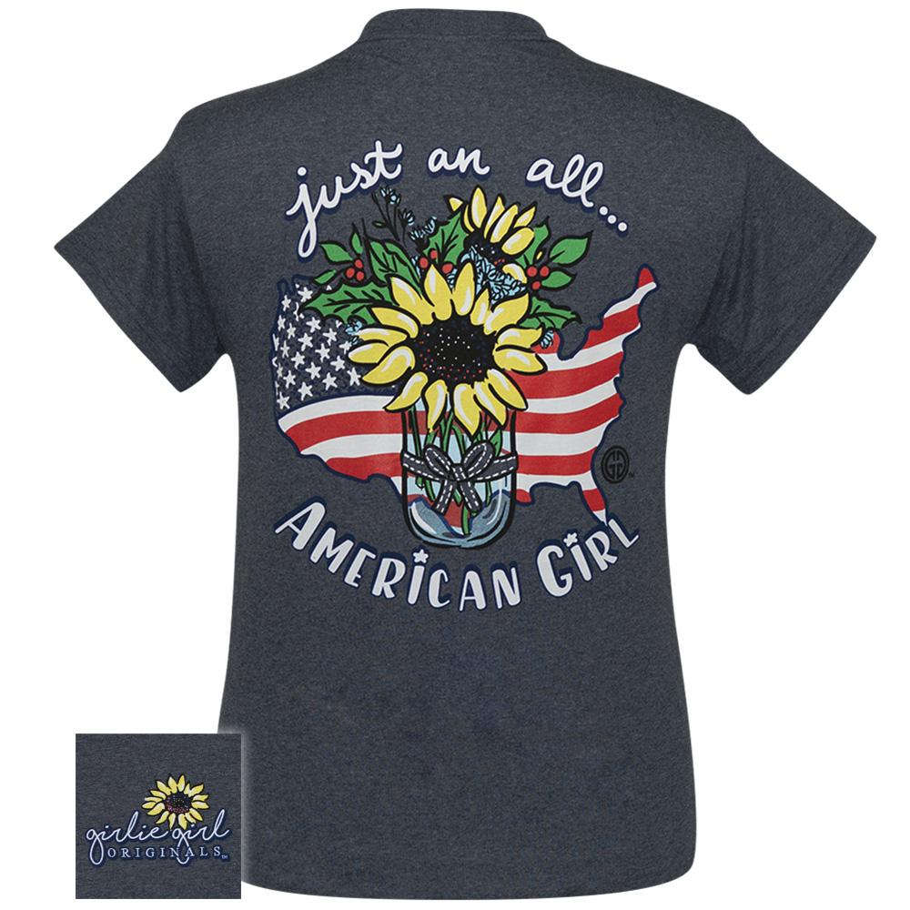 Sunflower American Girl Heather Navy SS 2359
