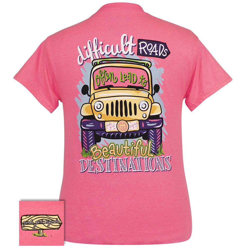 Beautiful Destinations-Safety Pink SS-2364