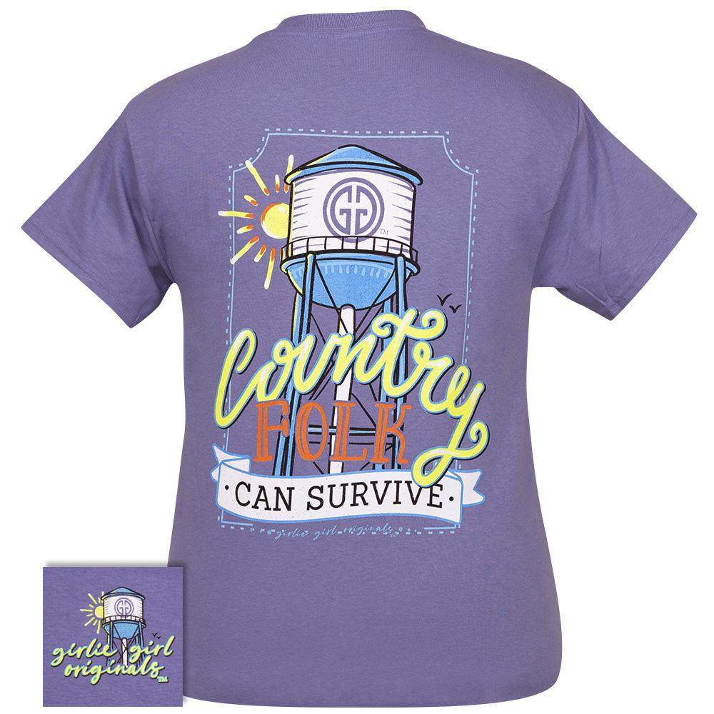 Country Folk-Violet SS-2395