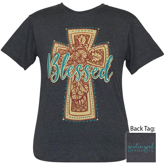 Western Cross Heather Black SS-2413
