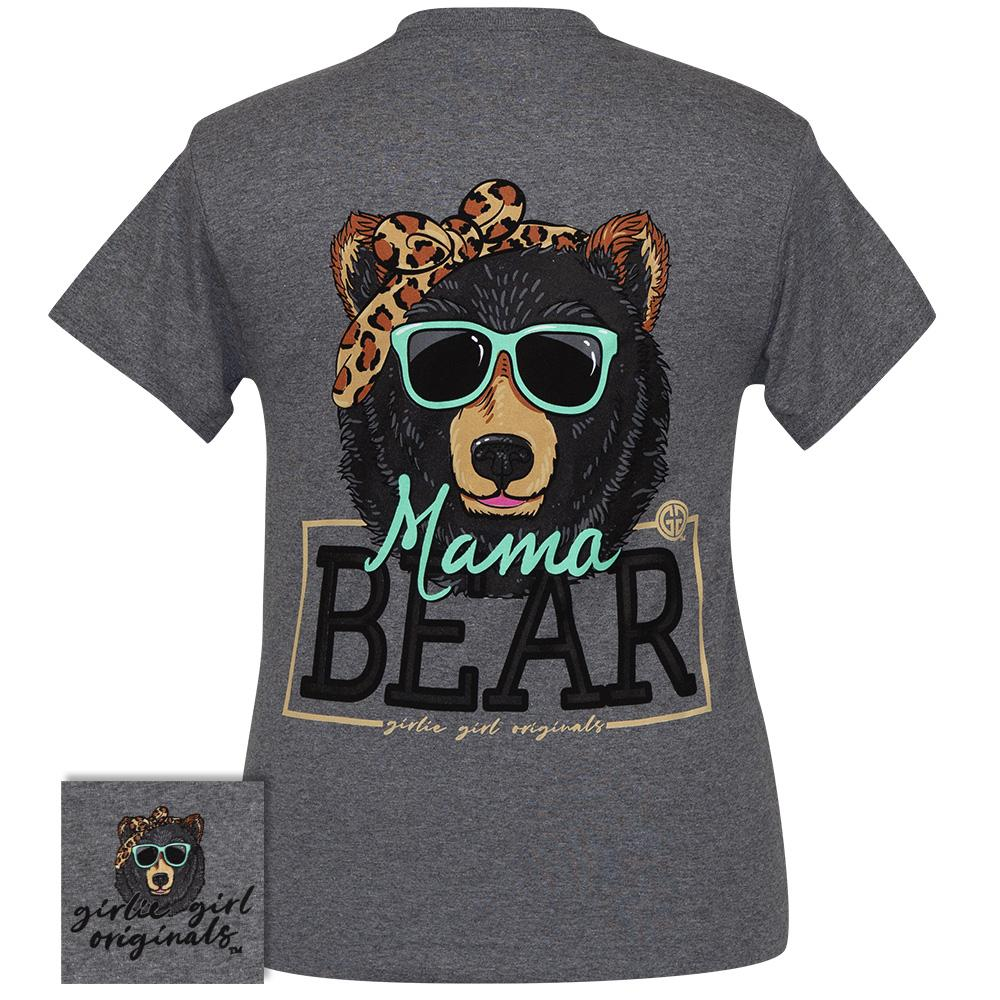 Mama Bear Bandana Graphite Heather SS-2414
