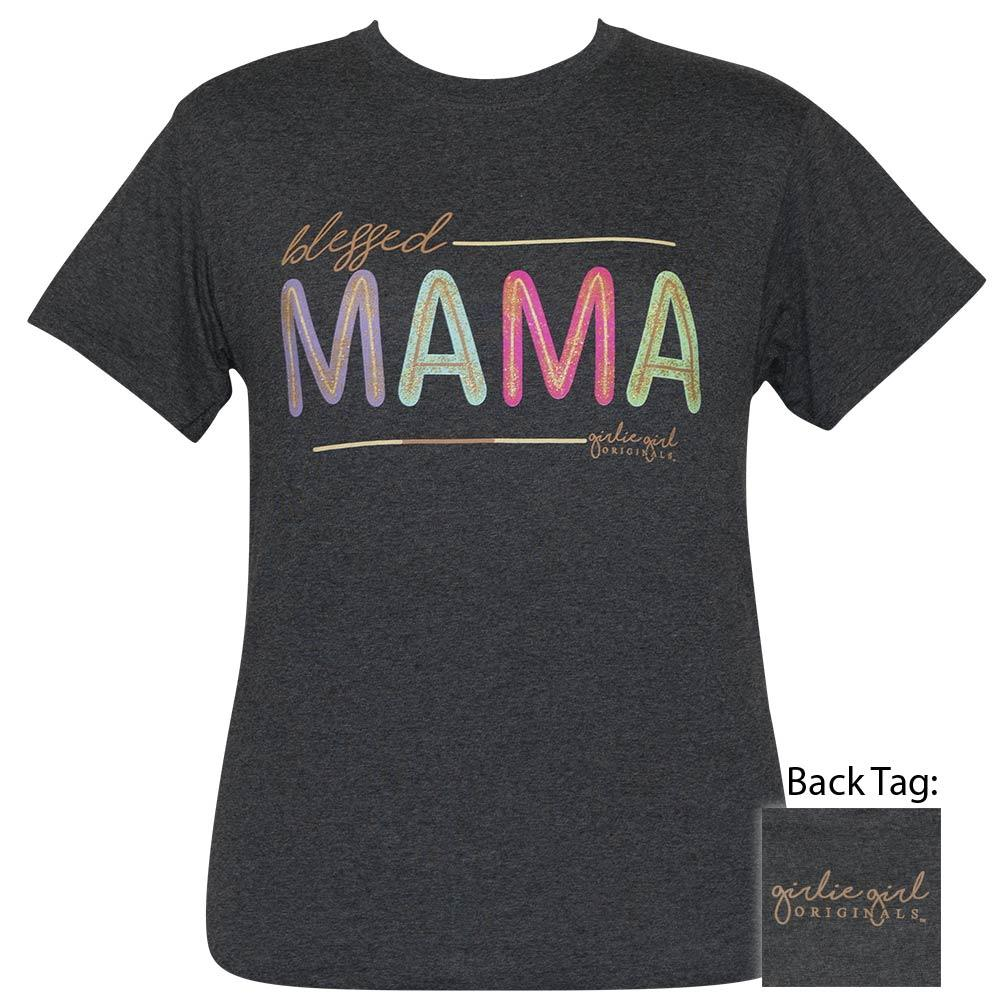 Blessed Mama Glitter - Black Heather-2422