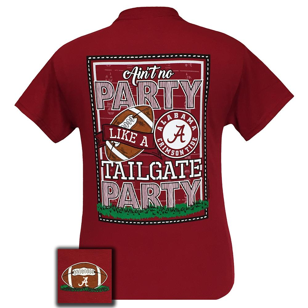 Alabama Tailgate Short Sleeve