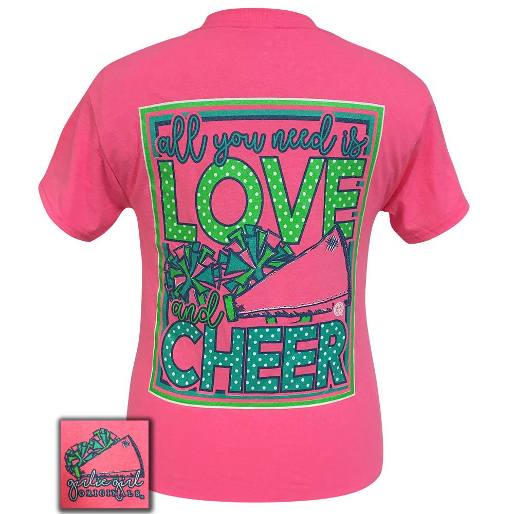 All You Need Cheer Safety Pink Short Sleeve