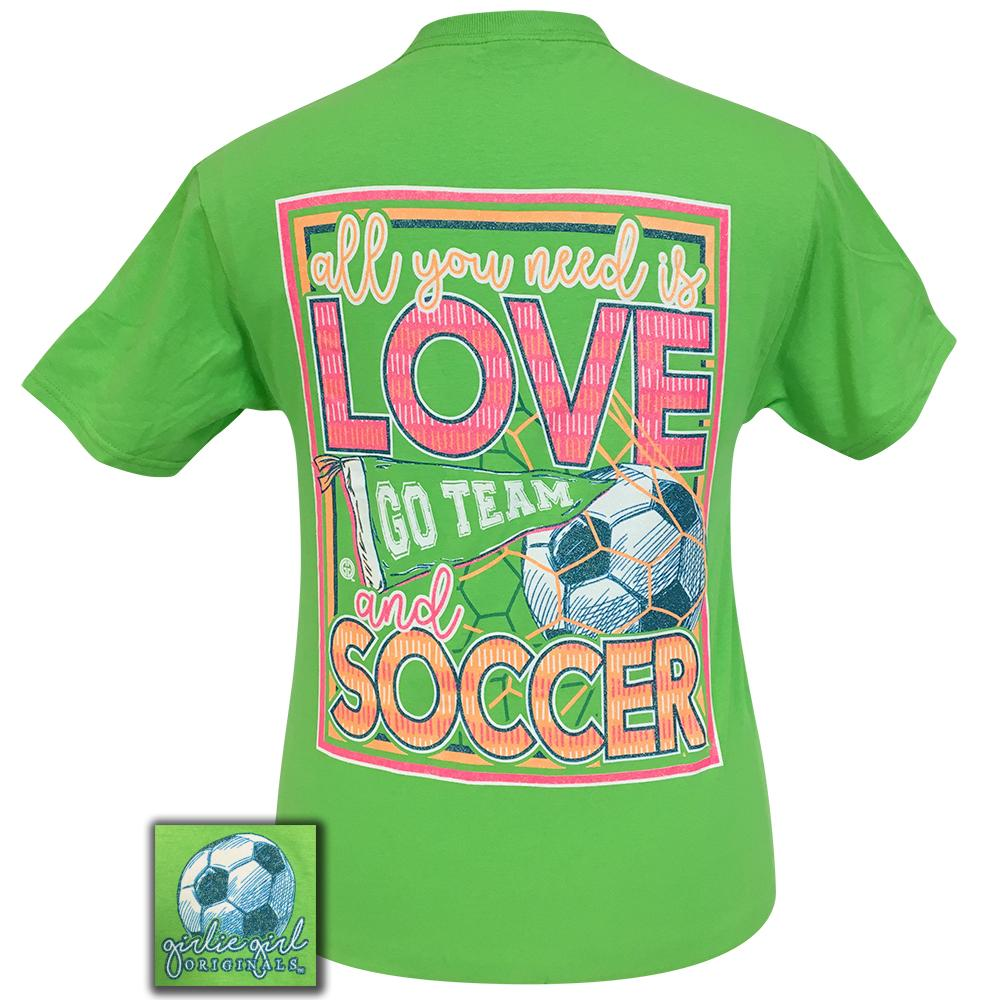 All You Need Soccer Kiwi Short Sleeve