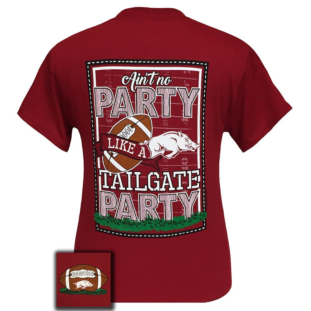 Arkansas Tailgate Short Sleeve